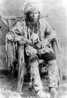 North Axe, Blackfoot (Northern Peigan), 1886