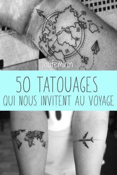 41 Meilleures Images Du Tableau Tatouages De Voyage Ink Nice