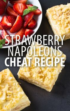 Spruce up store-bought cake mix and frosting with fresh strawberry flavor! Try Buddy Valastro's Strawberry Milkshake Cake & Cake Boss Strawberry Napoleons. http://www.recapo.com/rachael-ray-show/rachael-ray-recipes/cake-boss-strawberry-milkshake-cake-recipe-strawberry-napoleons/