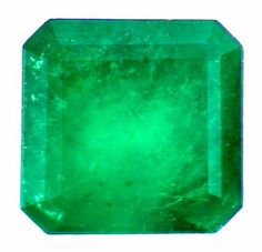 Emerald in emerald square cut, Asscher cut 6 mm, carats, natural emerald calibrate and facet for jewelry making, May birthstone