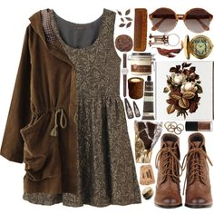 Source by sprengeranne outfits Style Hippy, Style Me, Casual Outfits, Fashion Outfits, Womens Fashion, Earthy Outfits, Rustic Outfits, Geek Fashion, Aesthetic Fashion