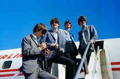 At Seattle Tacoma Airport, the Beatles boarded their chartered Americn Flyer Airlines Lockheed Electra plane bound for Vancouver, British Columbia, to give their first-ever Canadian concert, at the Empire Stadium, on August 22, 1964. It would be the fourth show on their first U.S. tour.        The Lost Beatles Photographs: The Bob Bonis Archive, 1964-1966 by Larry Marion
