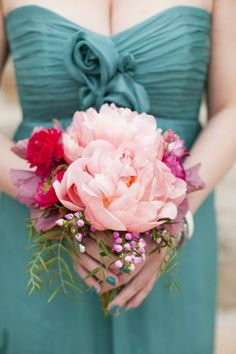 REVEL: Peony Bouquet: the colors are perfect.