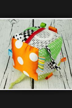 Activity cube - sew for baby