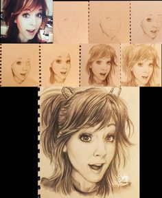 lindsey stirling drawing! by Zeablast