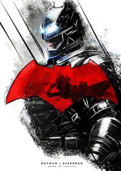 Batman V Superman Dawn of Justice alternative poster