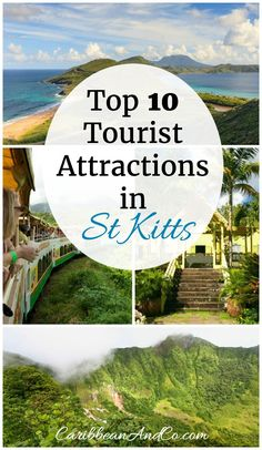 The beautiful island of St Kitts is known for its Rainforested Mountains and beaches of white, gray and black sands.   Beyond this there are many attractions including our top 10 luring visitors to St Kitts. Check it out!