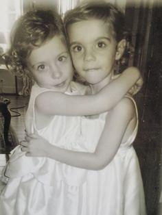 Paige Hall Bluhdorn  My girls Audrey & Anna