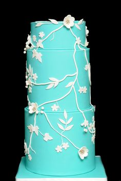 Tiffany blue wedding cake.  http://www.thecakemuseum.ca/