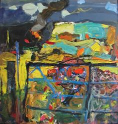 The Black Gate Duncan Shanks Abstract Sculpture, Abstract Art, Paint Charts, Glasgow School Of Art, Call Art, Landscape Art, Landscape Paintings, Painting Inspiration, Art Inspo