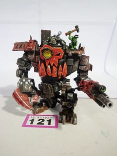 Warhammer Space Orks 657121 Converted Mega Dread | eBay - 40k, Kustom