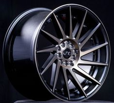 JNC wheels are a low pressure cast wheels. Low pressure casting uses positive pressure to move the molten aluminum into the mold quicker and achieve a finished product that has improved mechanical pro Rims For Cars, Rims And Tires, Wheels And Tires, Volkswagen Phaeton, Volkswagen Golf Mk2, Jetta A4, Wheel Fire Pit, Vossen Wheels, Motorcycle Wheels