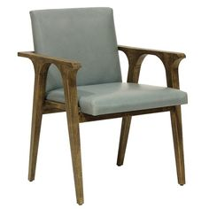 Mid-century sleekness. Lennon Arm Chair from @Zinc_Door #zincdoor #new #seating