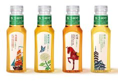 農夫山泉,東方樹葉系列茶包裝 | PEGA Blah Blah