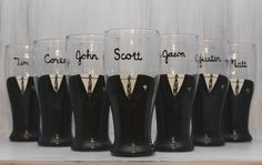 Such a cool idea as a gift for the groomsmen! groom groomsmen