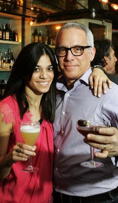 Chef Geoffrey Zakarian with his wife Margaret.