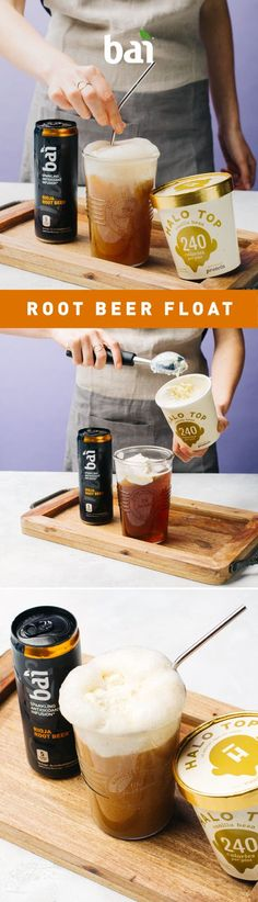 This Root Beer Float will trick your guests' taste buds into thinking this must be bad for you. But it's so damn good, and great tasting.