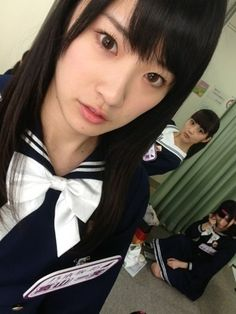 乃木坂46 (nogizaka46) Takayama Kazumi (高山一実) School Uniform Girls, High School Girls, School Uniforms, Takayama Kazumi, Sailor Moon, Kawaii, Japan, Actresses, Cute
