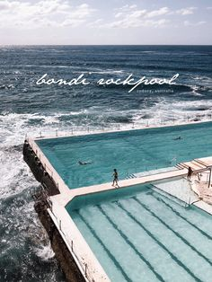 Bondi Rockpool Australia Luxury Travel Branding Rose Design House