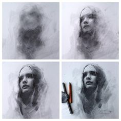 Supreme Portrait Drawing with Charcoal Ideas. Prodigious Portrait Drawing with Charcoal Ideas. Charcoal Portraits, Charcoal Art, Charcoal Drawings, Charcoal Drawing Tutorial, Figure Painting, Figure Drawing, Painting & Drawing, Life Drawing, Drawing Sketches