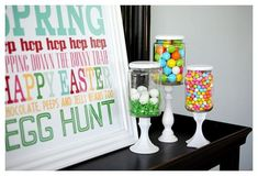 who would have ever thought gluing candlesticks and jars together you would have something so cute!
