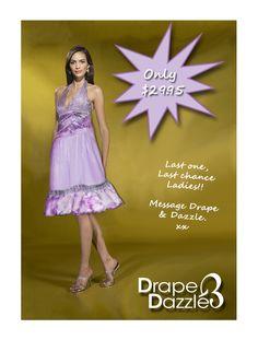 Purple halter with lace & silver embellishments. Size:8-10, $29.95. Formal Prom, Embellishments, Purple, Lady, Silver, Ornaments, Decoration, Decorations, Viola