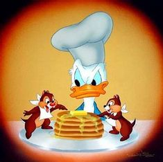 Donald Duck with Chip'n Dale - donald-duck Photo