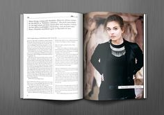 BRUNO Magazine by Morris Pinewood Stockholm , via Behance