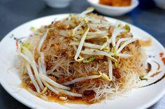 fried rice vermicelli #Taiwan #food 米粉炒