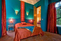 Teppich schlafzimmer ~ Schlafzimmer design rot petrol kopfende teppich schlafzimmer