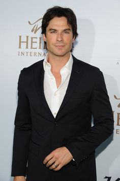 Actor Ian Somerhalder had a chic style moment at Heifer International's fourth annual Beyond Hunger Gala, which was held at the Montage in Beverly Hills, California. The Vampire Diaries star sported dark wash denim jeans with boots and a smart blazer suit jacket with a white dress shirt.