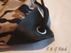 "Turntasche ""Army Look"" Army Look, Bags, Fashion, Handbags, Leather, Moda, Fashion Styles, Taschen, Fasion"