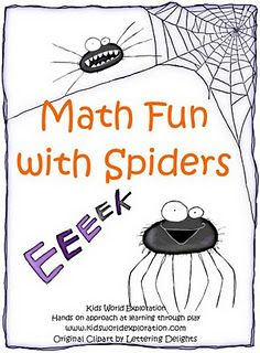 Math Fun with Spiders