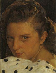 Francisco Pons Arnau - Retrato De Mujer