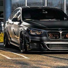 BMW F07 550i GT LCI black