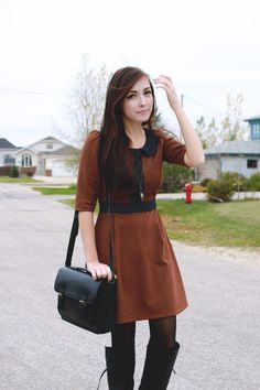 Breanne of Flattery wearing Miss Patina