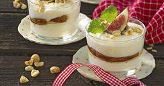 Vaniljrutor med pepparkaka recept | Allas Recept Mousse, Tiramisu, Panna Cotta, Cheesecake, Pudding, Snacks, Ethnic Recipes, Desserts, Tips