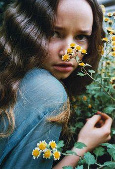 Hannah Kuessner by Marie Zucker for Material Girl Summer 2012!