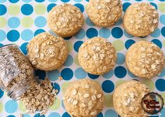 Oatmeal Muffins are delicious & will keep you really full just by gobbling a few of them. It is a quick breakfast meal or a delicious snack Reduce Blood Sugar, Cupcake Cakes, Cupcakes, Oatmeal Muffins, Yummy Snacks, Meals, Cookies, Breakfast, Desserts