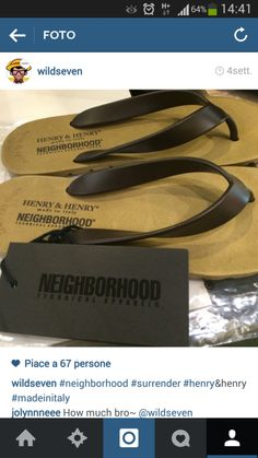 Neighborhood x henry&henry 's flipper