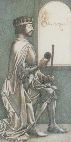The Emperor - Da Vinci Tarot