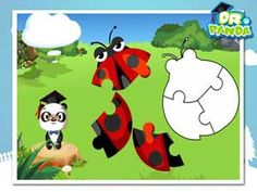 Panda, Teach Me! - Set in a beautiful forest full of animals, children can interact with the environment to trigger funny animations or to access one of the educational games. Educational Apps For Kids, Beautiful Forest, Panda, Preschool, Environment, Animation, Teaching, Children, Funny