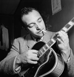 DJANGO REINHARDT   jazz attracted me because it offered a perfection of form and…