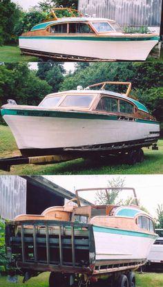 1956 27' Chris Craft Cabin Cruiser