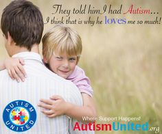 Autism = Love! So many strong and inspiration people within our community!