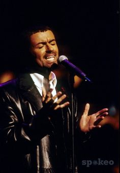 Image detail for -George Michael performing live at the MTV European Music Awards