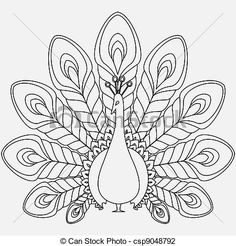 The abstract vector peacock. The abstract vector black peacock eps Peacock Outline, Peacock Drawing, Peacock Art, Peacock Vector, Peacock Design, Peacock Images, White Peacock, Feather Vector, Peacock Colors