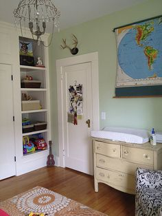 Really want to find a pull down map for Liam's room