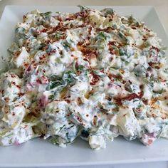 Malzemeler: 1 demet semizotu 2 tane patates 1 tane kırmız(kapya) biber ...