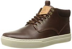 Timberland Men's Adventure Cupsole Chukka Boot Chukka sneaker featuring two-tone suede uppers with rawhide lacing Wraparound midsole with toe bumper Chukka Sneakers, Chukka Boot, Timberland Mens, Dark Brown, High Top Sneakers, Men's Boots, Casual, Jazz, Manish